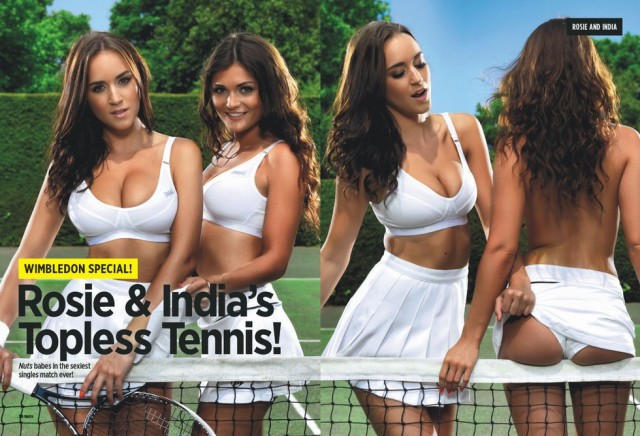 Nues à Wimbledon !